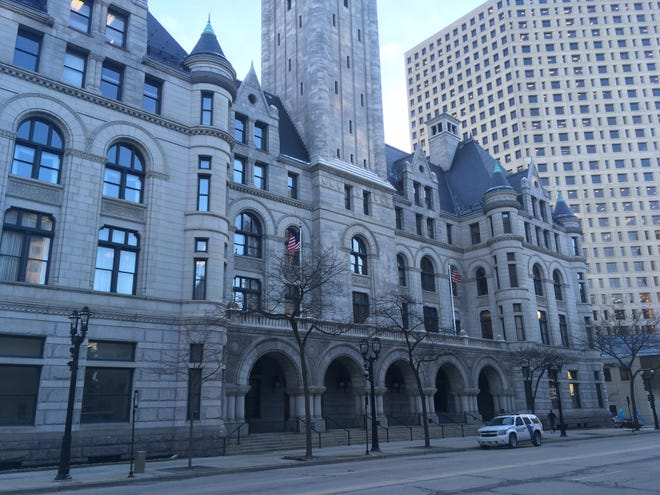 The Federal Courthouse in Milwaukee handles bankruptcies cases.