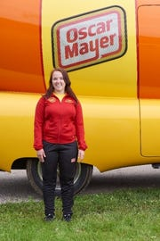 Hayley Rozman is a town of Delafield native and one of the current Hotdoggers driving the Oscar Mayer Wienermobile around the country.