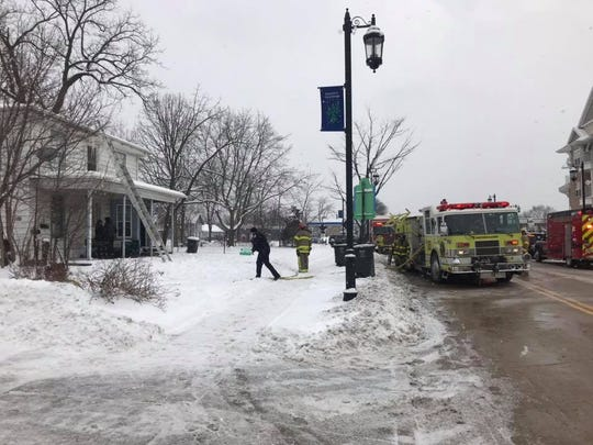 Western Lakes Fire District and the Okauchee Fire Department responded to a structure fire in Oconomowoc on Jan. 24.