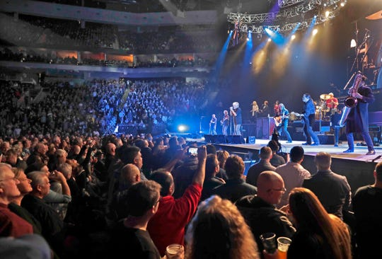 Bob Seger & The Silver Bullet Band performs at the Fiserv Forum, Thursday, January 24, 2019.  Rick Wood/Milwaukee Journal Sentinel.