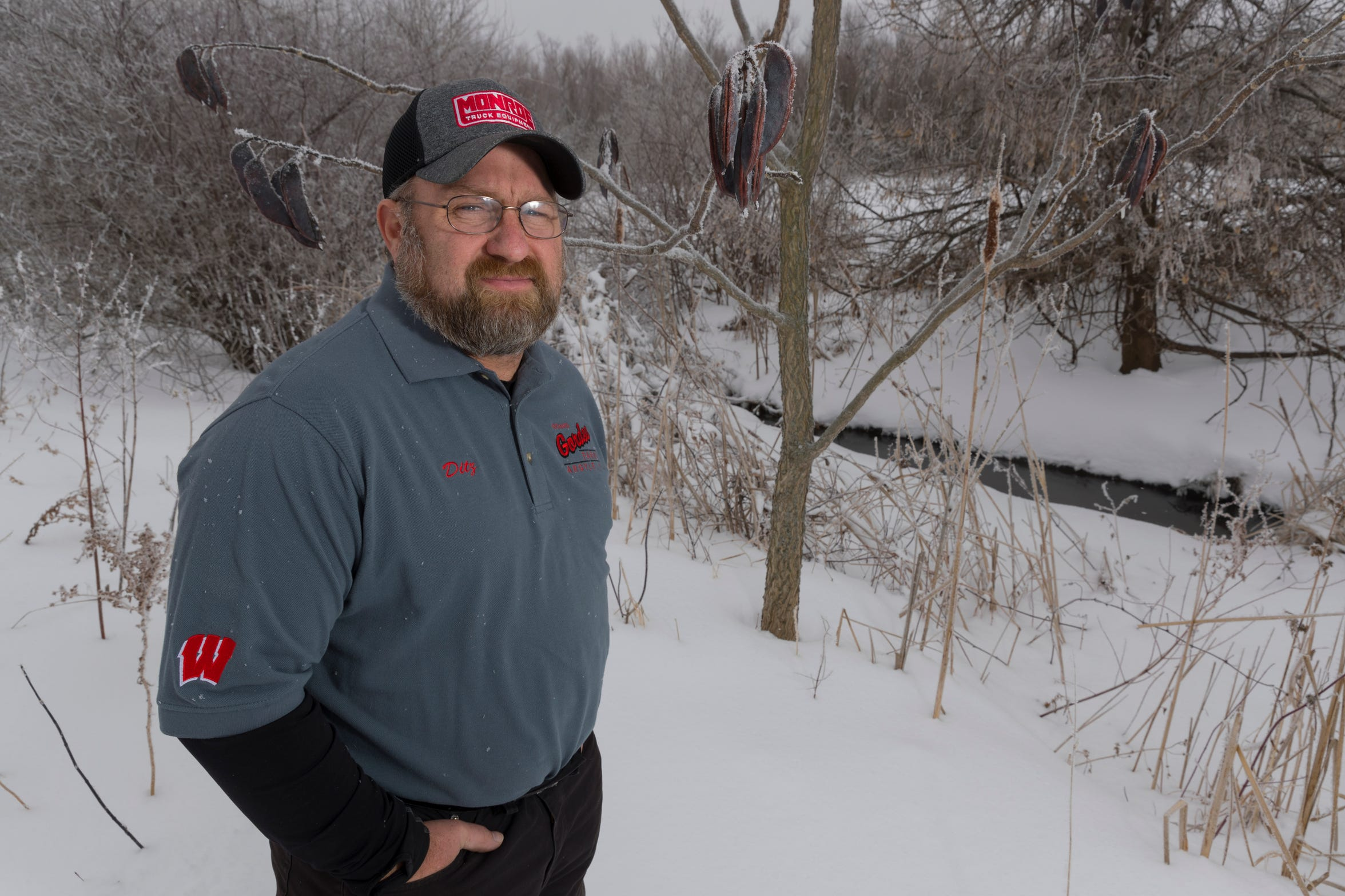 Jeff Ditzenberger has become a lifeline for other farmers who've contemplated suicide, helping them deal with the worst farm crisis in many years.