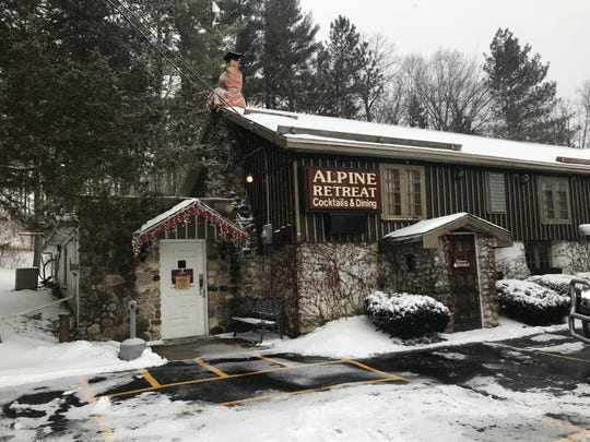 Alpine Retreat offers a quaint dining experience in the hills of Hubertus.
