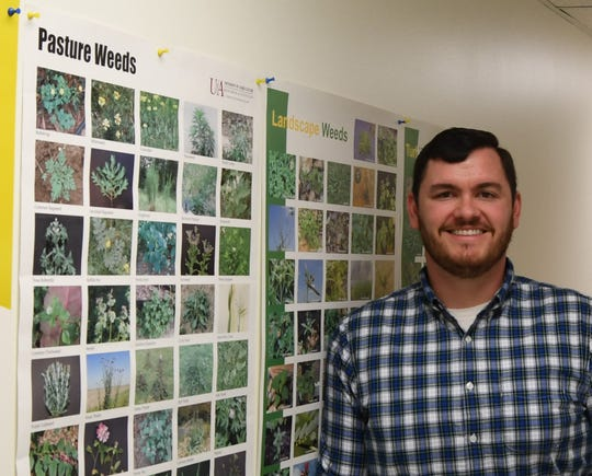 Brad Runsick, Baxter County's new Cooperative Extension Service agent, previously served as Fulton County's Extension agent.
