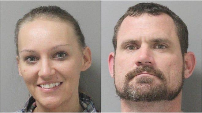 Savannah Lynne McManus, 32, and Casey Eugene Rayner, 38