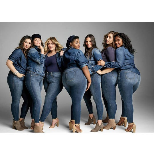 Torrid specializes in clothing designed for women size 10 to 30.