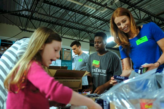 YouTube sensation, Robby Novak - known as Kid President - assembles food packs with local volunteers for the Second Harvest Food Bank of Middle Tennessee. The agency is preparing for the 300,000 Tennesseans who may lose SNAP benefits due to the current federal furlough.