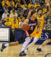 Kevn McClain (11) led Belmont with 23 points in the Bruins' 79-66 win at Murray State Thursday night.