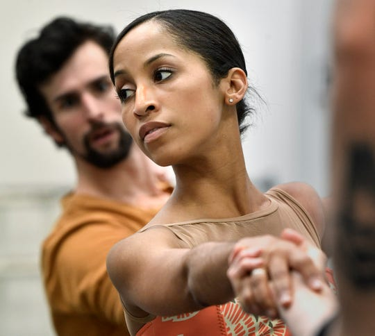 "Kayla Rowser of the Nashville Ballet will star in ""Lucy Negro Redux,"" which explores the mysterious love life of William Shakespeare through the perspective of the illustrious ""Dark Lady."" ""I'm still kind of wrapping my head around that my character is a black woman,"" Rowser says. ""That's just something that never even occurred to me I would actually experience."""