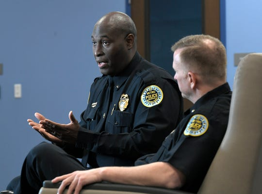 Metro Police North Precinct Commander Terrence Graves and East Precinct Commander David Imhof talk about the need for more crisis treatment centers.