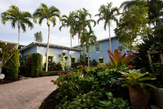 An Aqualane Shores home which will be featured in the Naples House and Garden Tour is pictured, Thursday, Jan. 25, 2019, in Naples.