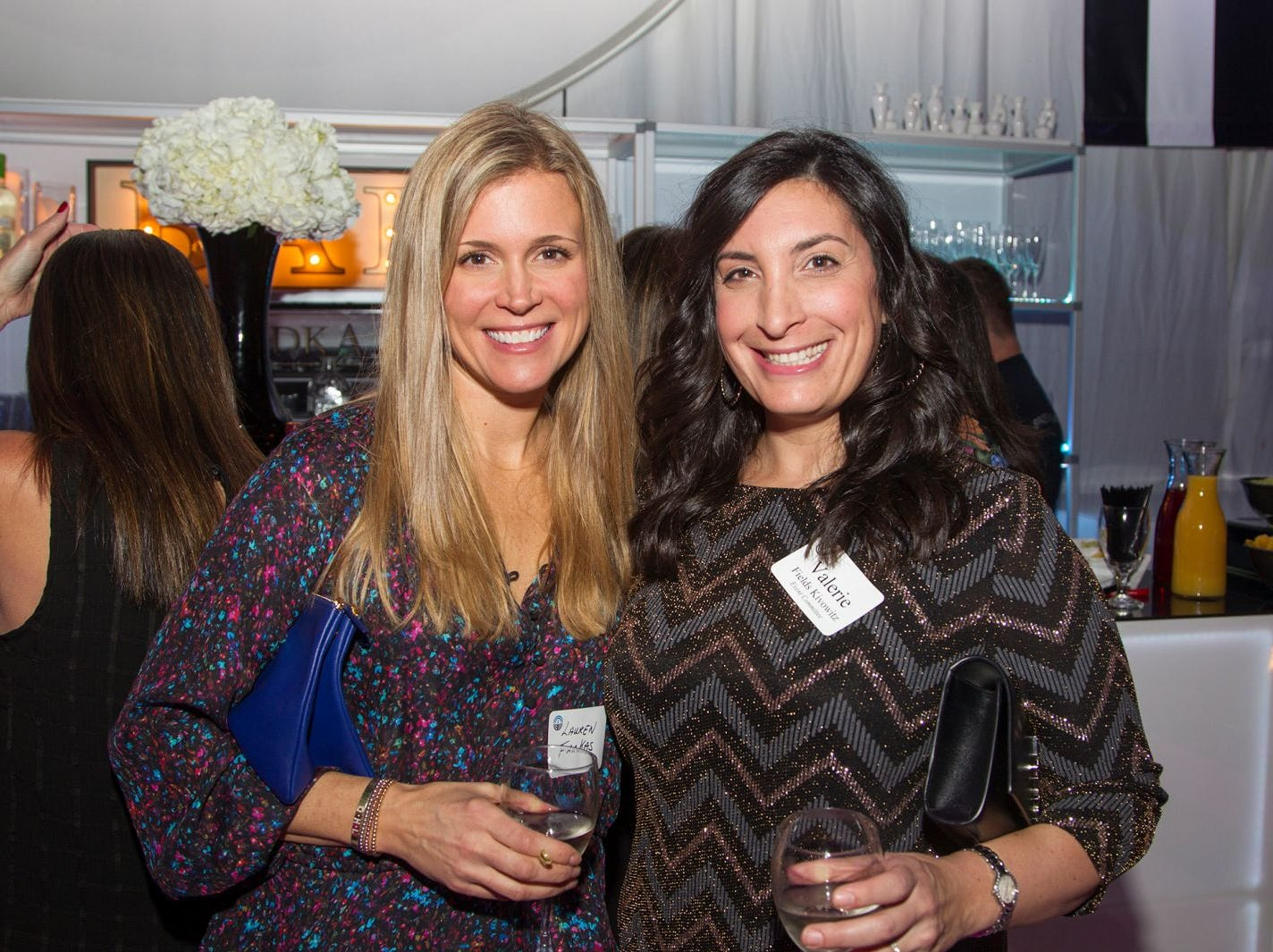 Lauren Farkas, Valerie Kivowitz. Jewish Federation of Northern New Jersey held its first Girl's Night Out dance party at Space in Englewood. 01/24/2019