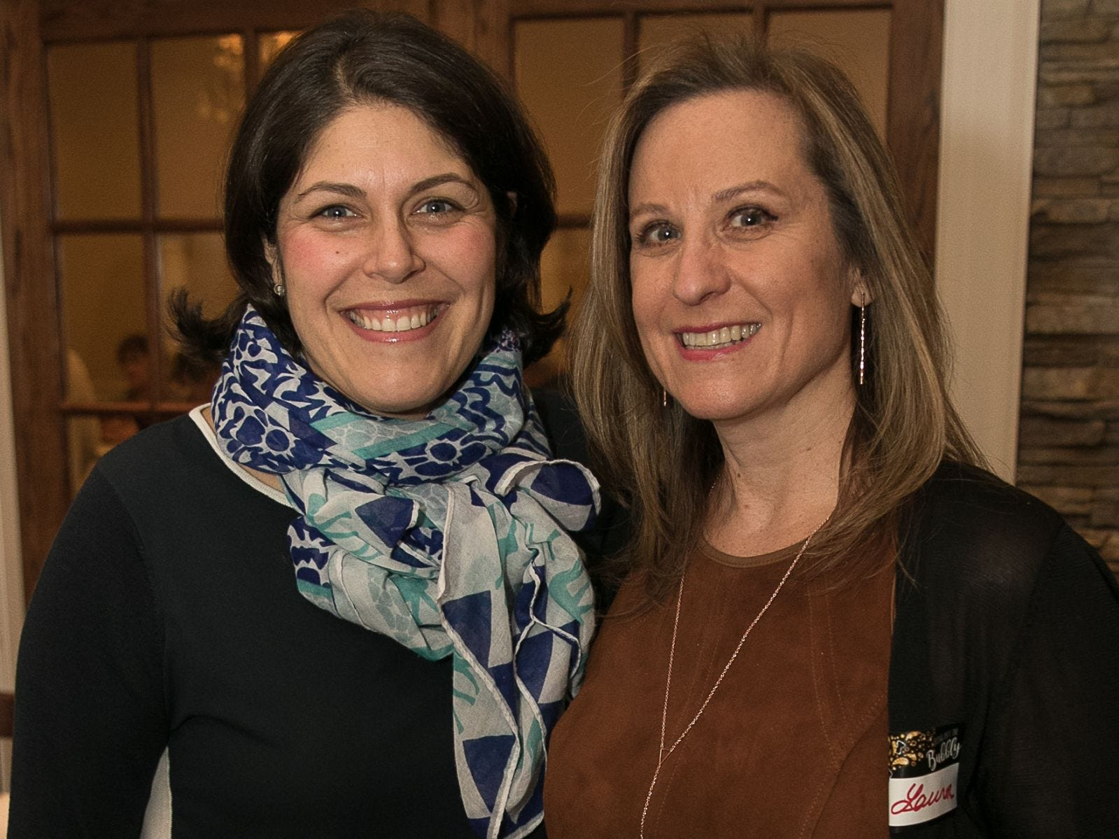 Rachel Hayek, Laura Taras. The Saddle River Valley Junior Woman's Club held an inductee dinnerfor incoming members at Bellisimo Restaurante in Montvale. 01/23/2019