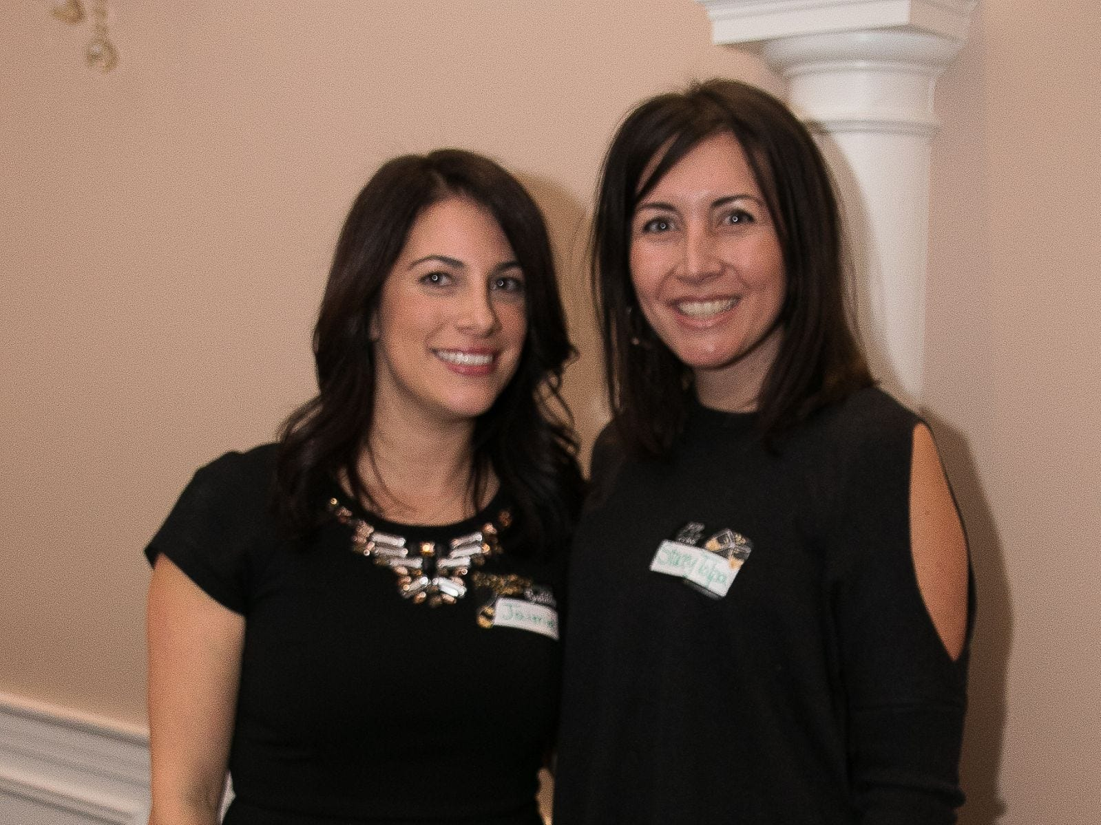 Jaimie Sirianni, Stacey Tolpa. The Saddle River Valley Junior Woman's Club held an inductee dinnerfor incoming members at Bellisimo Restaurante in Montvale. 01/23/2019