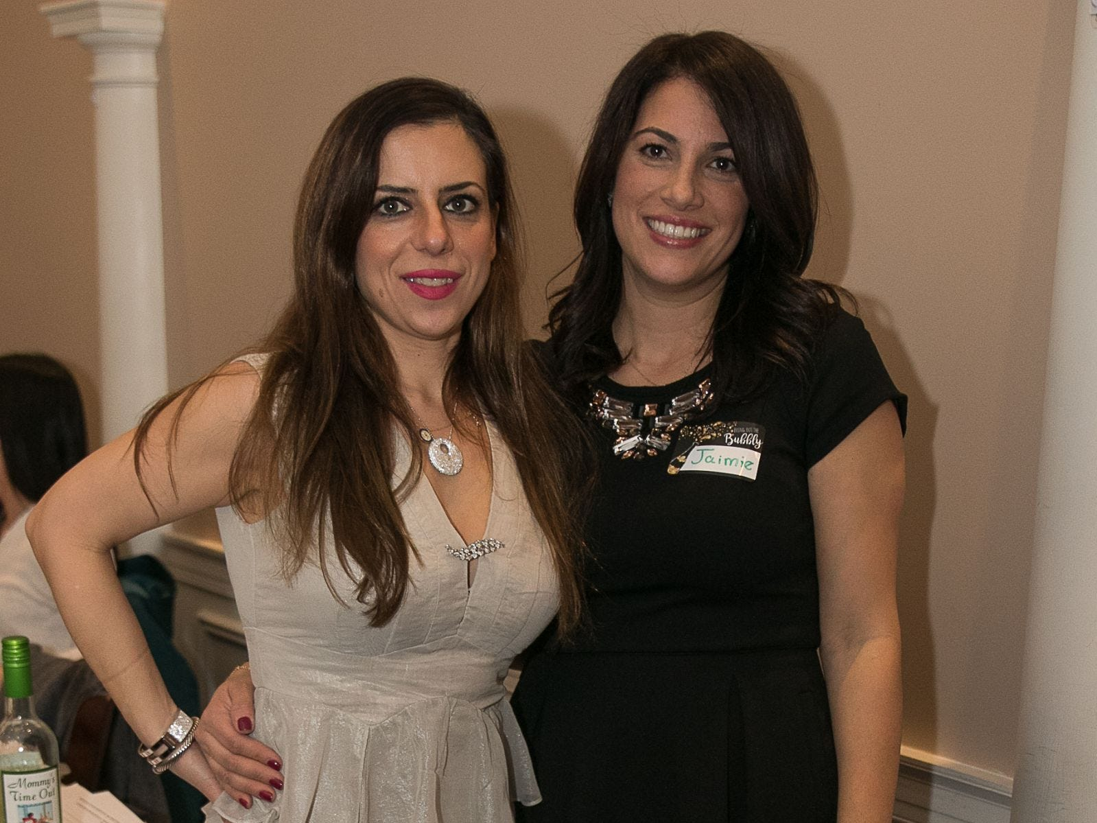 Sam Vahid, Jaimie Sirianni. The Saddle River Valley Junior Woman's Club held an inductee dinnerfor incoming members at Bellisimo Restaurante in Montvale. 01/23/2019