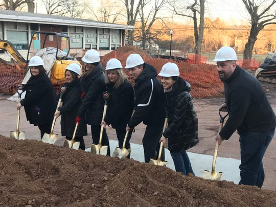 Cresskill school board members and the district's superintendent were present Friday for a groundbreaking for a new early childhood center.
