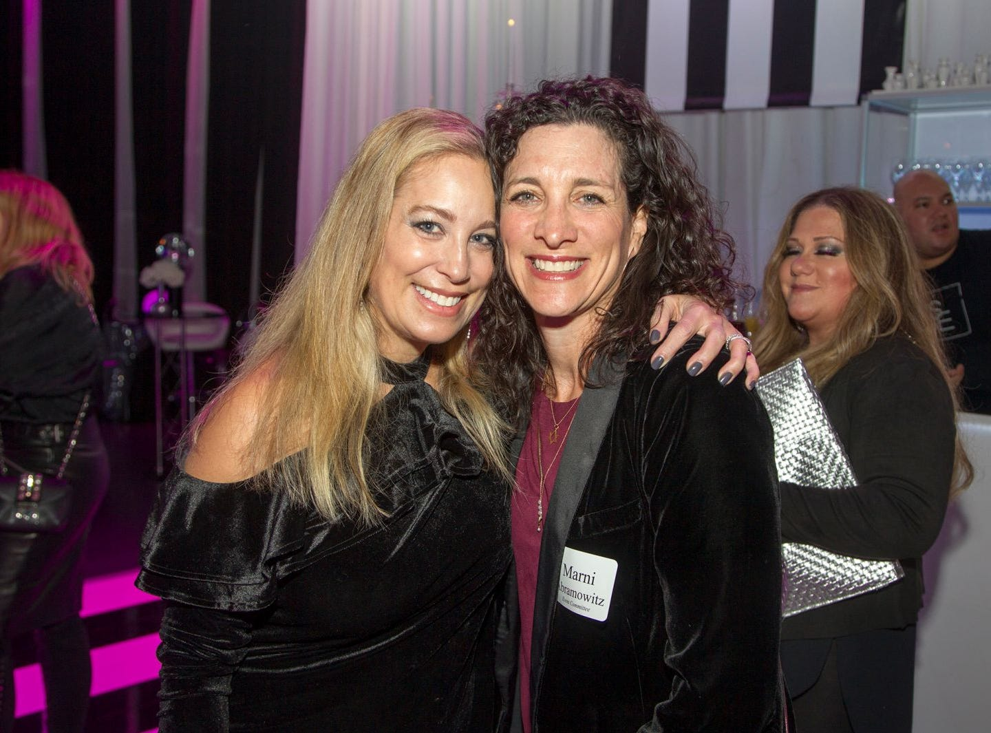 Dana Adler, Marni Abramowitz. Jewish Federation of Northern New Jersey held its first Girl's Night Out dance party at Space in Englewood. 01/24/2019