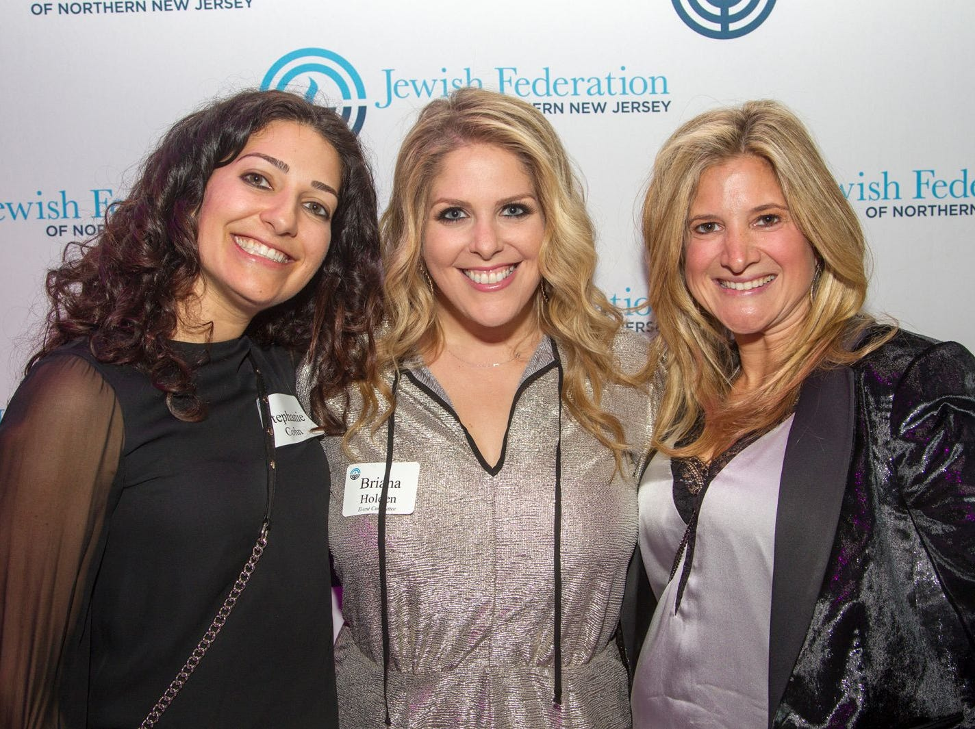 Stephanie Cohn, Briana Holden, Jillian Sorberg. Jewish Federation of Northern New Jersey held its first Girl's Night Out dance party at Space in Englewood. 01/24/2019