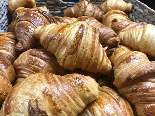 Buttery, flaky croissants at Pierre & Michel in Ridgewood