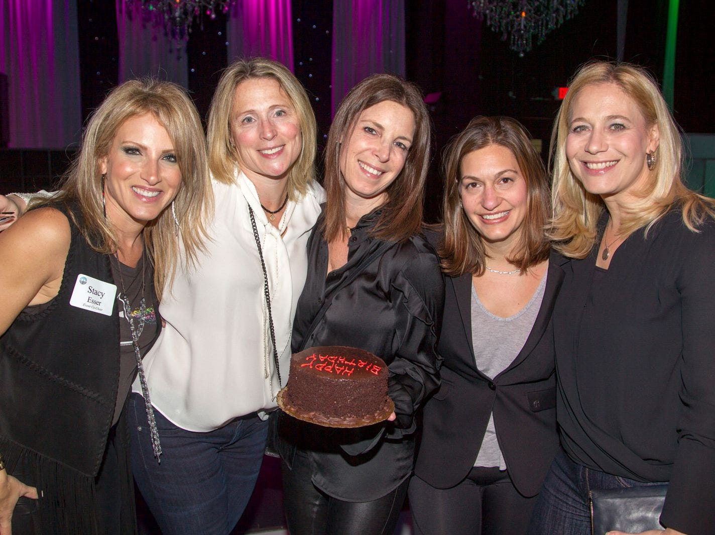 Stacy Esser, Allison Lavi, Claudia Woda, Sharon Greidman, Heather Glassman. Jewish Federation of Northern New Jersey held its first Girl's Night Out dance party at Space in Englewood. 01/24/2019