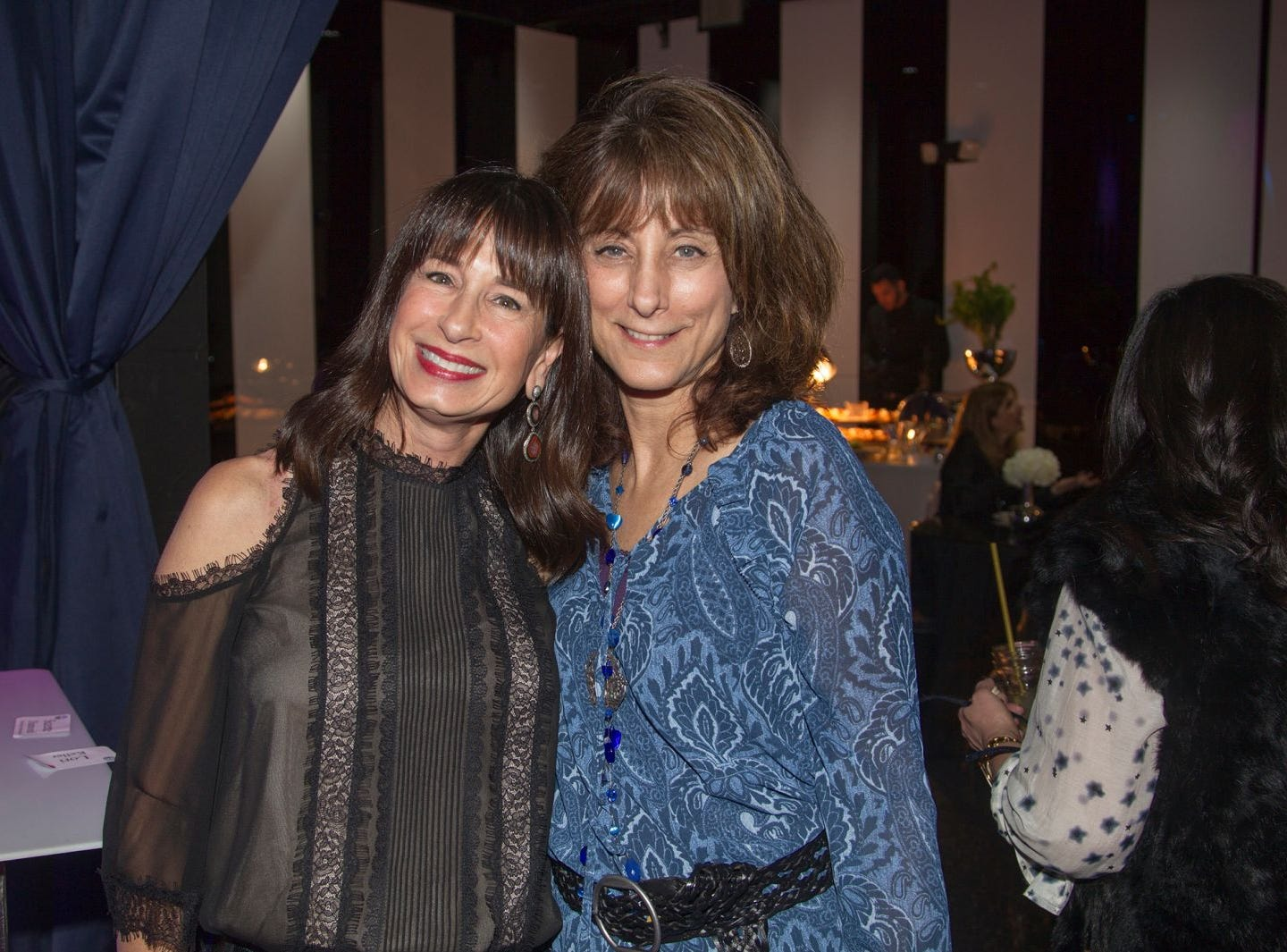 Suzette Diamond, Lori Keller. Jewish Federation of Northern New Jersey held its first Girl's Night Out dance party at Space in Englewood. 01/24/2019