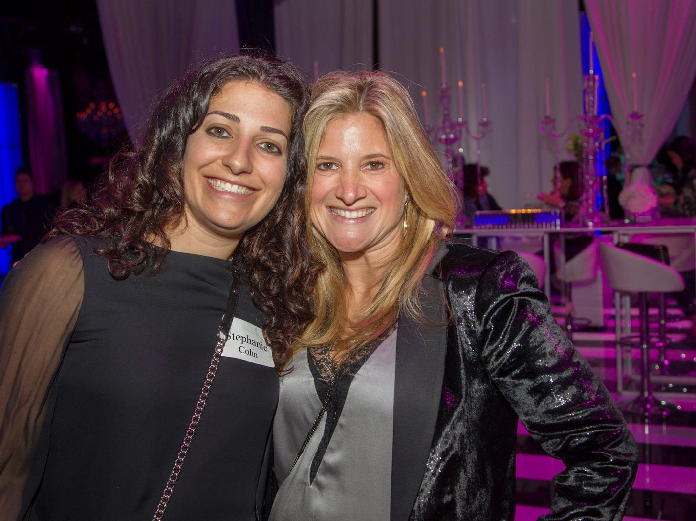 Stephanie Cohn, Jillian Somberg. Jewish Federation of Northern New Jersey held its first Girl's Night Out dance party at Space in Englewood. 01/24/2019