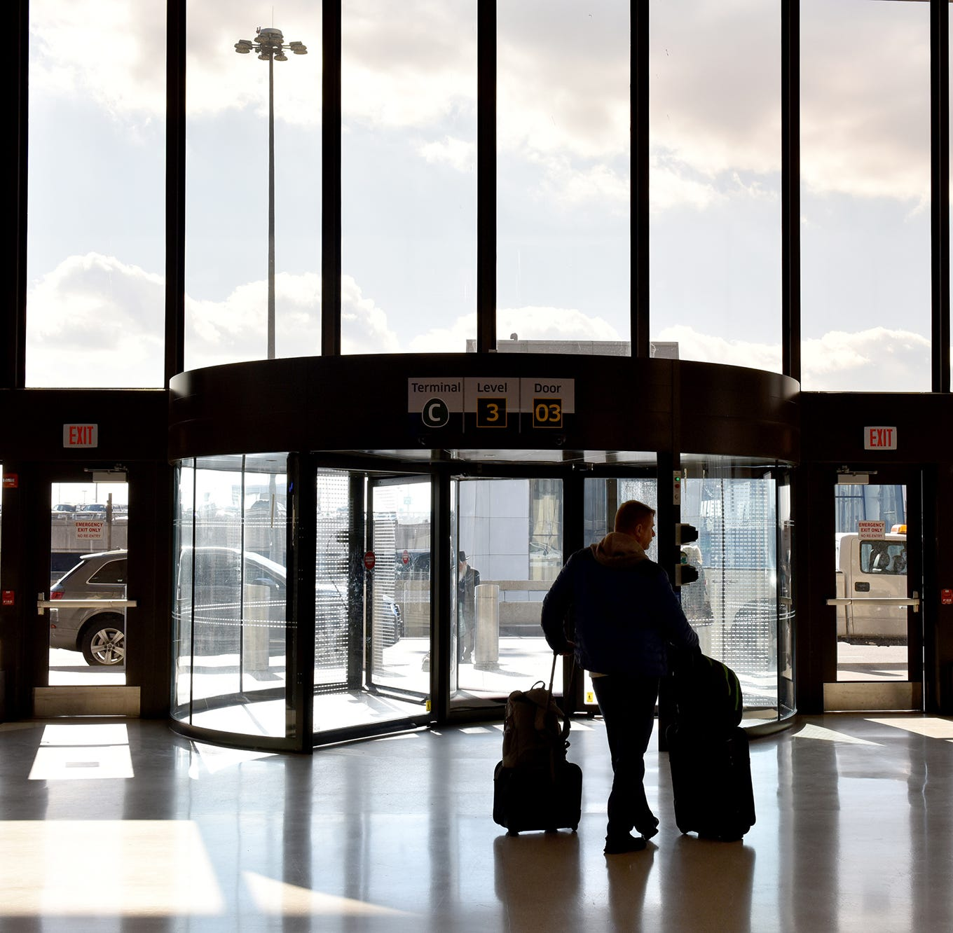 Newark Liberty airport sets passenger travel day record – and it was only a Thursday