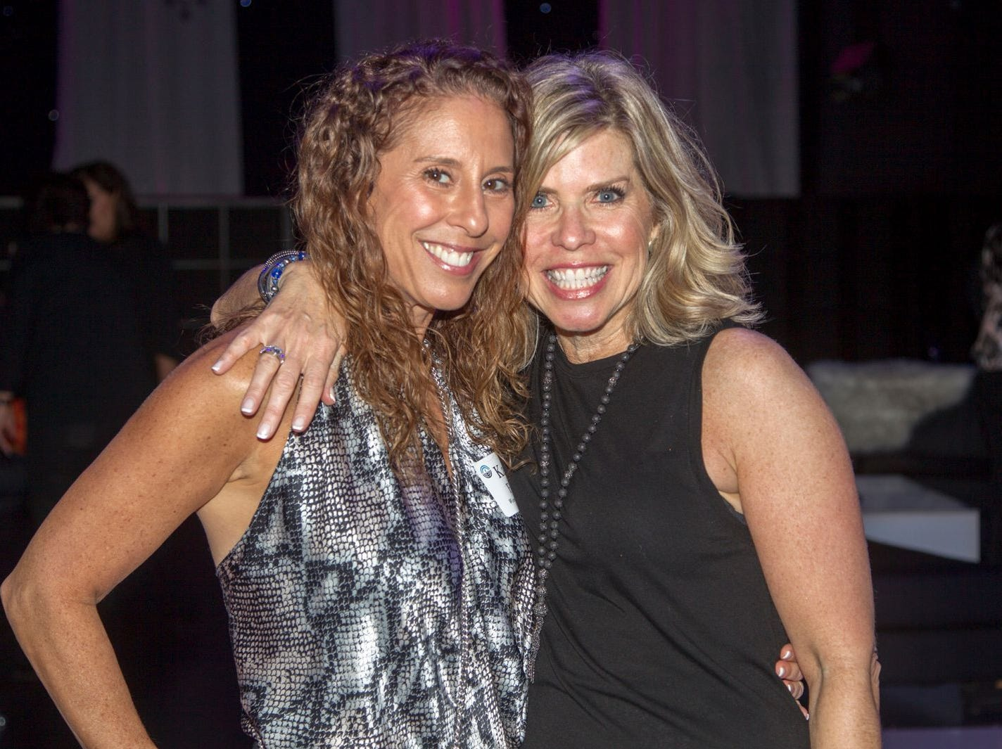 Kari Farber, Stacy Esser. Jewish Federation of Northern New Jersey held its first Girl's Night Out dance party at Space in Englewood. 01/24/2019