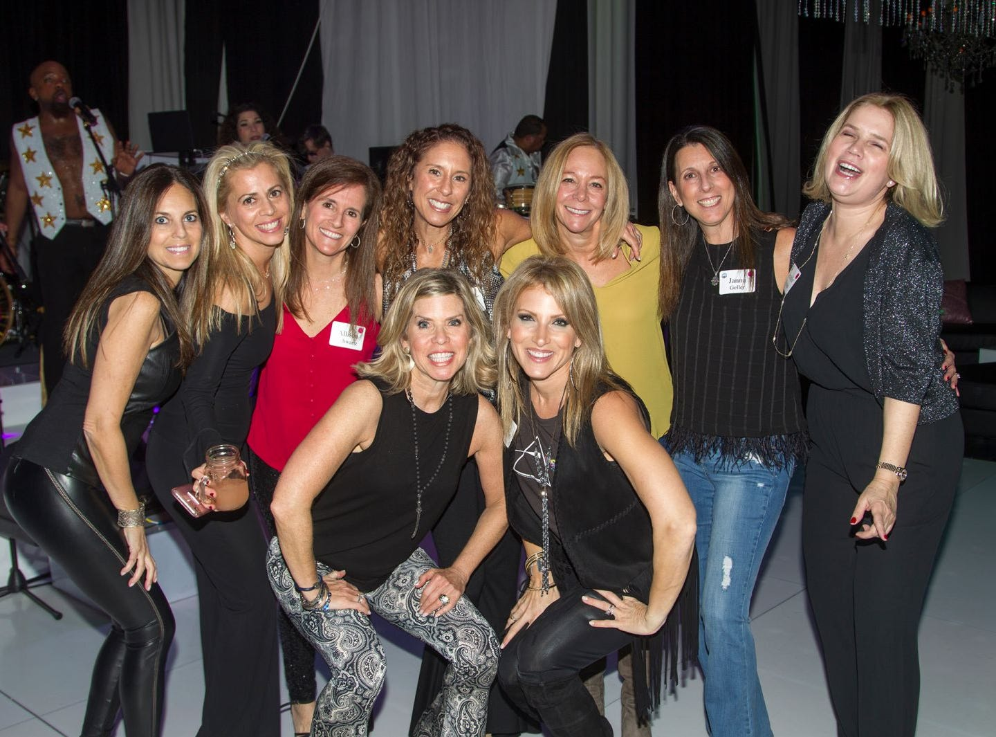 Jewish Federation of Northern New Jersey held its first Girl's Night Out dance party at Space in Englewood. 01/24/2019