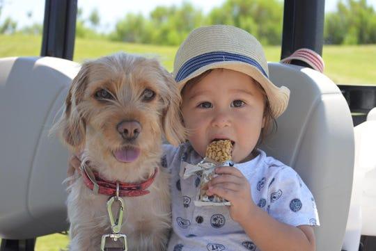 Sophie and Ayaka Kaneko's 3-year-old son, Koa.