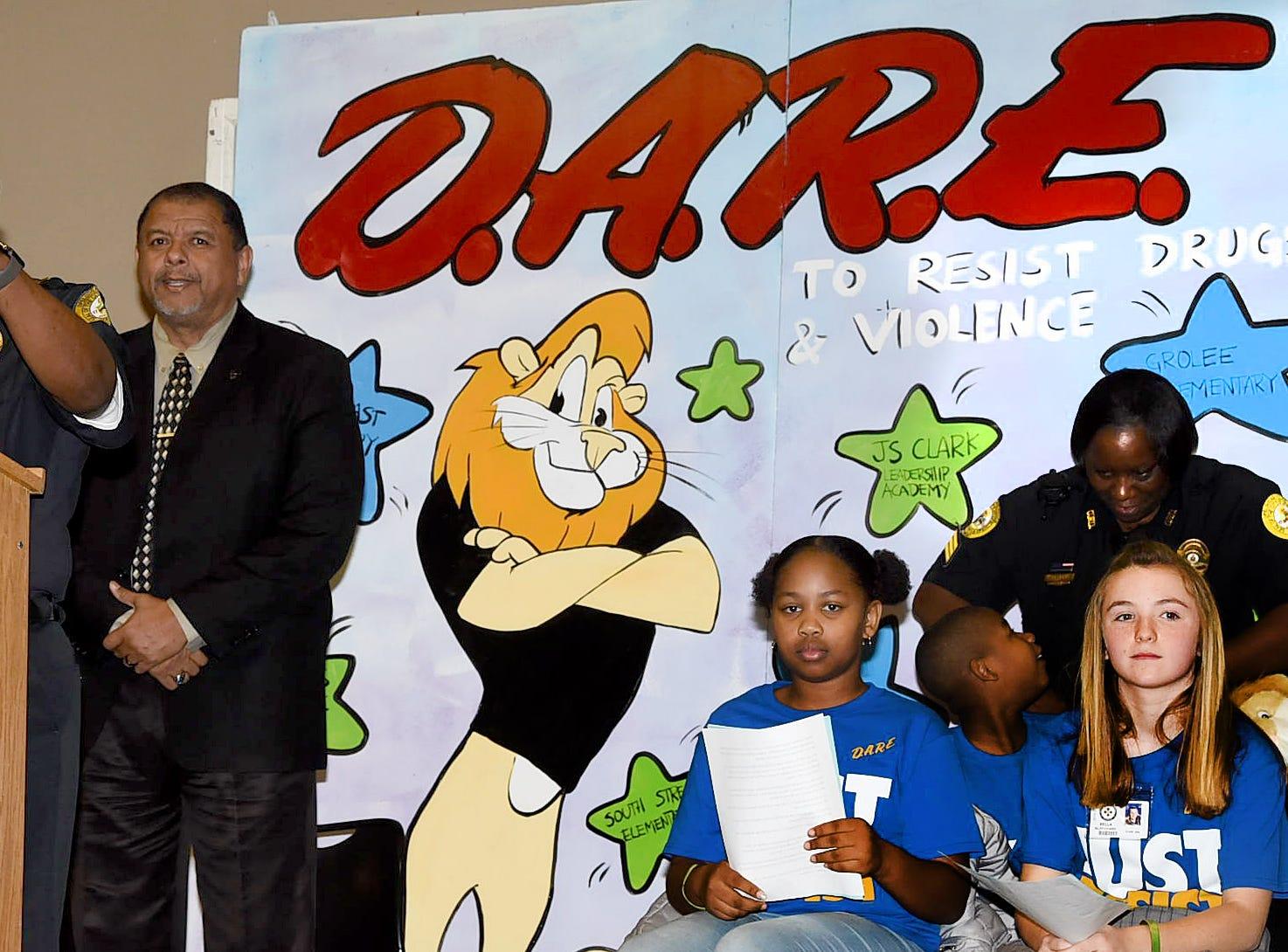 Citywide DARE graduation ceremonyl held Friday in Opelousas