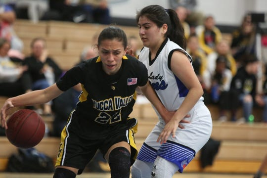Scenes from Cathedral City's win over Yucca Valley in Cathedral City on Thursday, January 24, 2019.