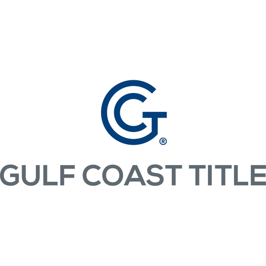 The new Gulf Coast Title Agency logo.