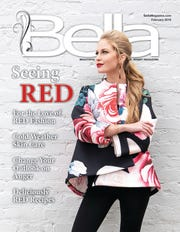 February's Bella Magazine front cover model, Lauren Rawls.