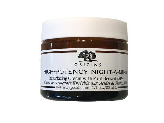 Hydrate with Origins High-Potency Night-A-Mins, $45, Dillard's