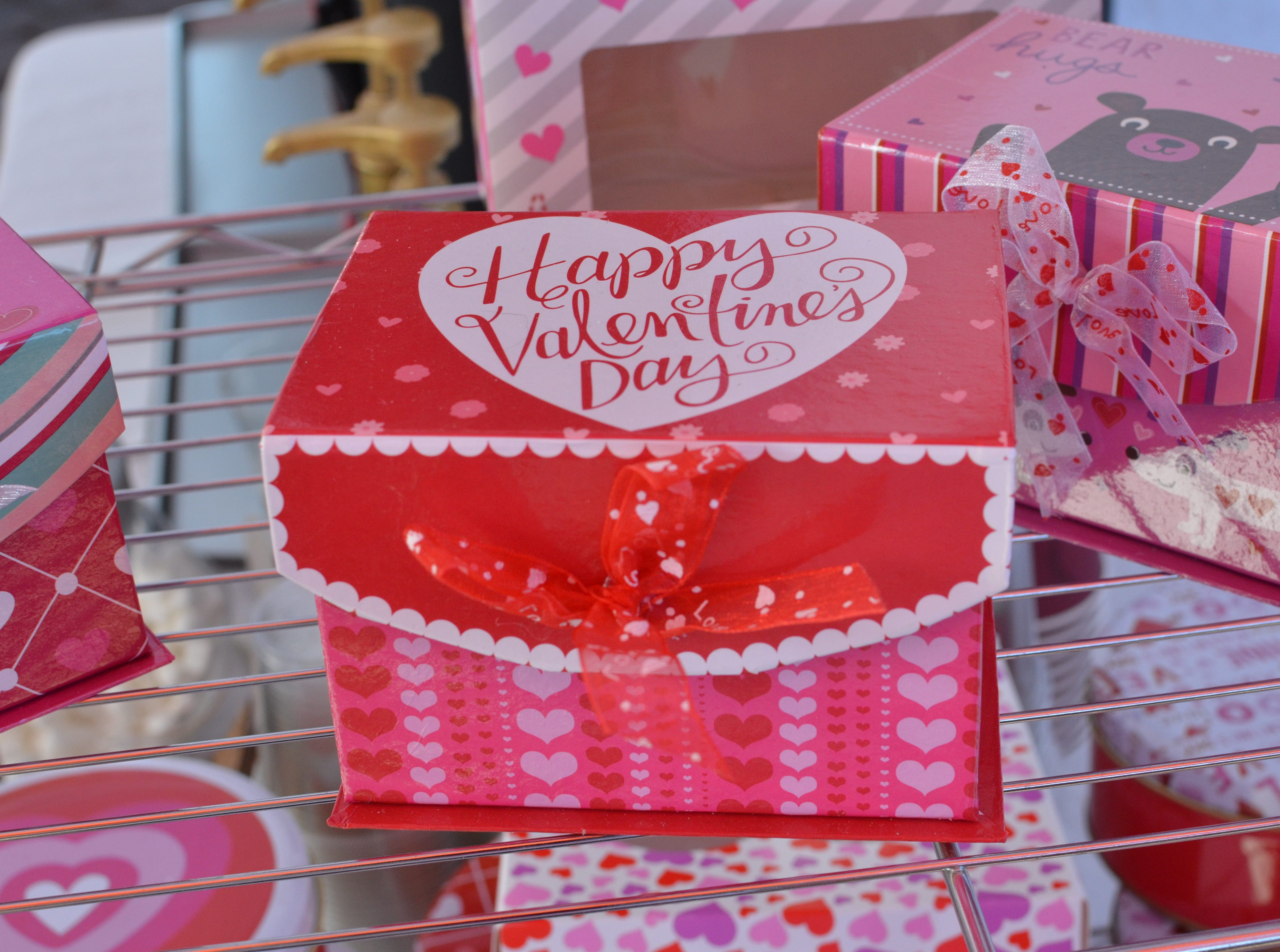 During the Art of Chocolate A'Fair, attendees can purchase Valentine's Day gifts.