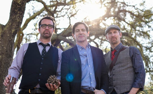 The musical trio the Sweet Remains features Brian Chartrand (from left), Greg Naughton and Rich Price.