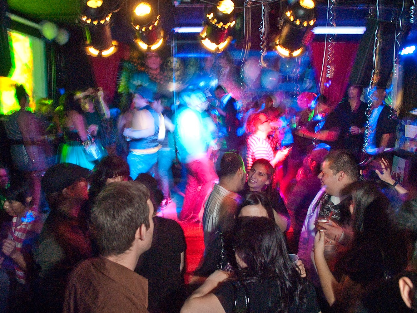 Shake! four-year anniversary at the Rogue Bar in 2009.