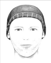 Gilbert Police searching for an unknown male suspect who made threats and assaulted a victim Dec. 26.