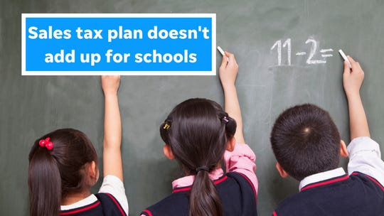 This penny sales tax plan does too much for universities, not enough for K-12 schools.
