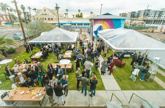 Located at 1121 N. 2nd Street in Downtown Phoenix, partake in the Super Bowl madness with BBQ, beer and cocktails at this garden party on Sunday, February 2, 2019.