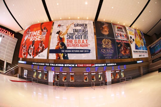 The Suns' Talking Stick Resort Arena is set to undergo a $230 million renovation starting this summer.