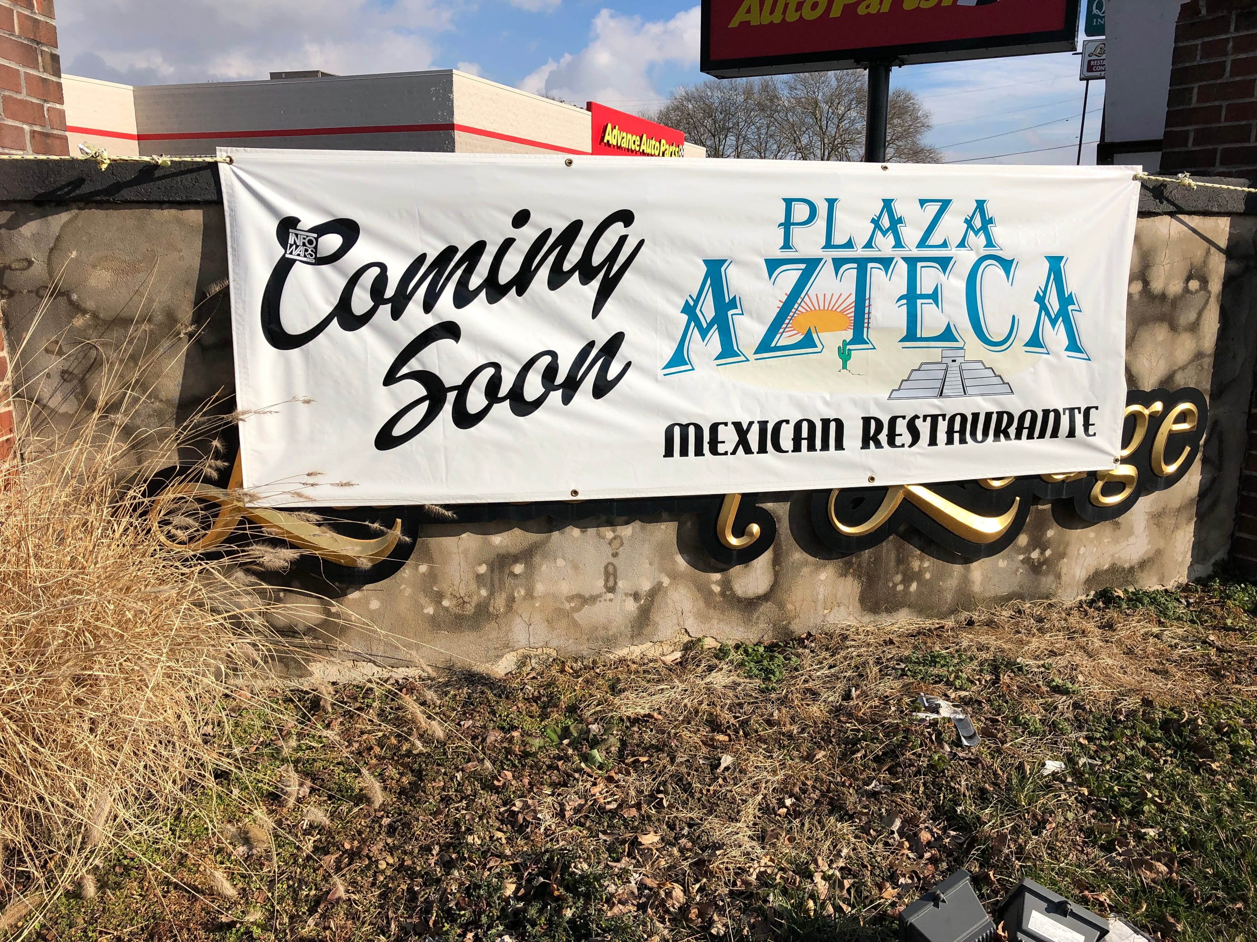 The latest location for the popular Mexican restaurant chain Plaza Azteca is due to open in Myerstown in a matter of weeks, per management. Renovations inside the old Lantern Lodge Bar & Lounge are already complete. I'm told all we're waiting for at this point is the liquor license transfer to go through.