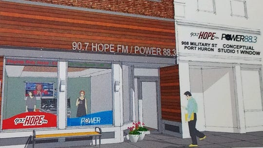 Shane Hernandez designed the new home for 90.7 Hope FM and Power 88.3.