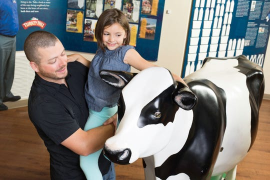 The Turkey Hill Experience gives kids a chance to see how the ice cream is made.