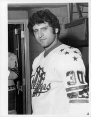 Defenseman Rick Pagnutti played four seasons for the Amerks in the 1970s, scoring a record 18 goals by a defender in 1972-73, and 55 points.