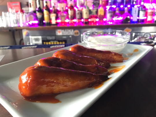 Vegan wings are one of the options at the Toasted Bear in the South Wedge.
