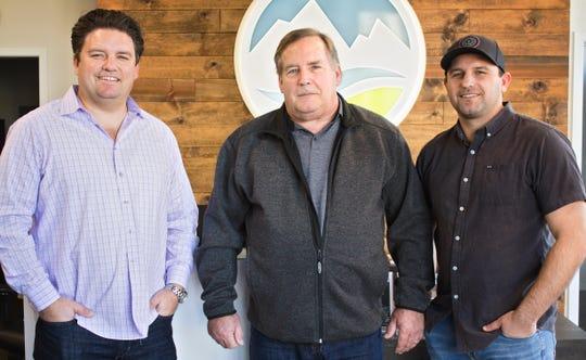 K2 Development Companies principals: Left to right, Allen Knott, Randy Knott and Daniel Knott.
