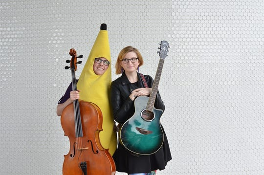 The Doubleclicks are a folk-pop sibling duo.