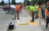 The Oregon Department of Transportation is working to improve curb ramps on routes along the state's highway system.