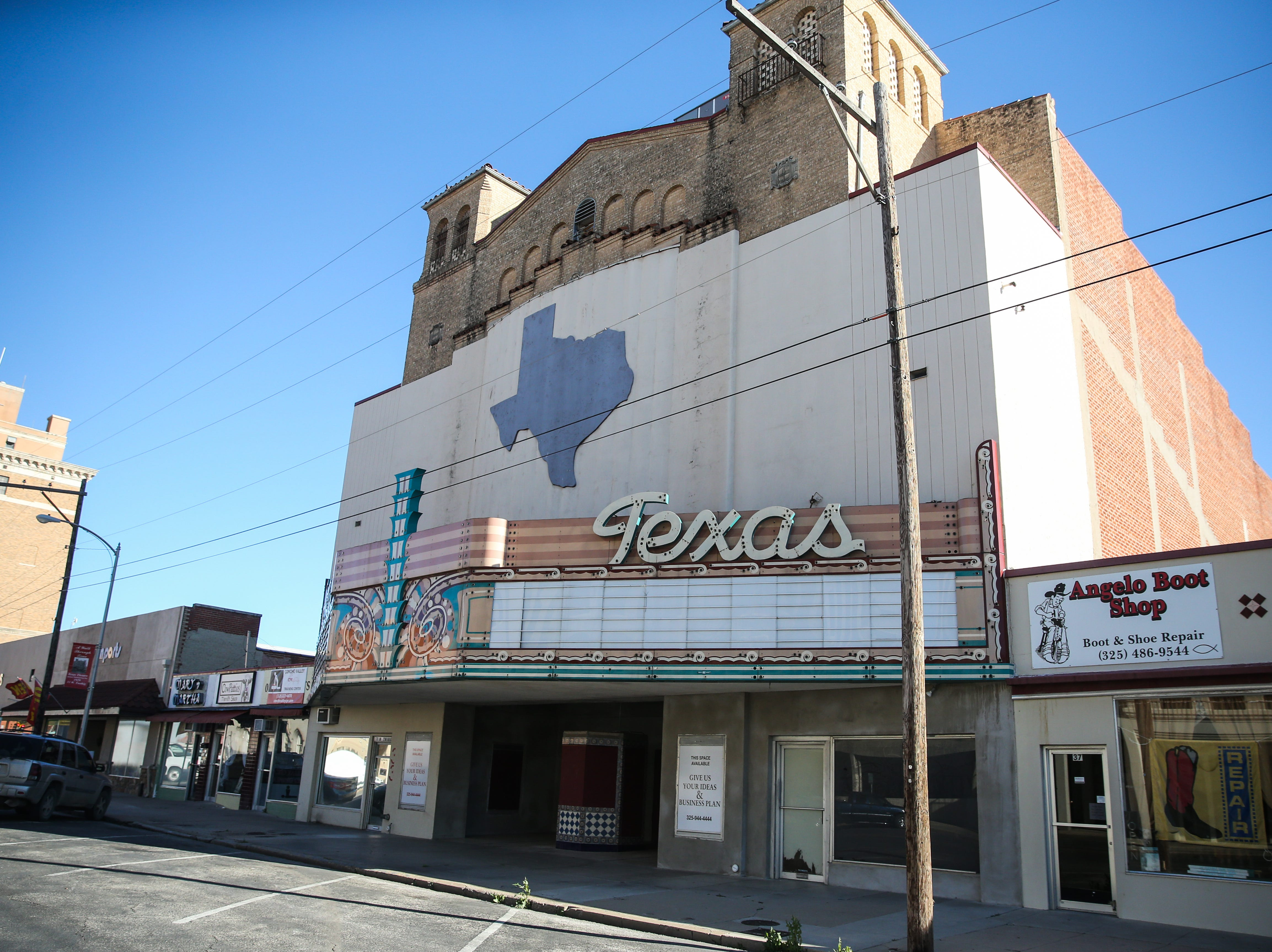 Lee Pfluger purchased the Texas Theatre in 1998 and it's been unused since 2015.